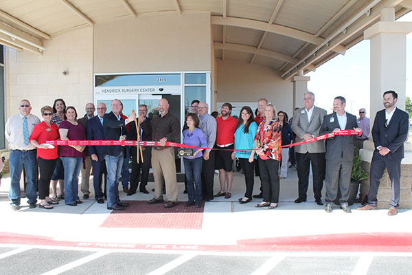 Ribbon Cutting for Lee Healthcare