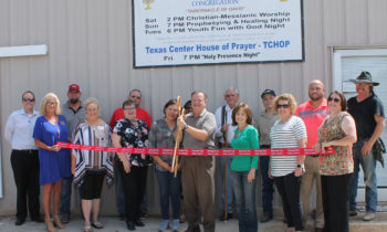 Brownwood Chamber Holds Ribbon Cutting for Book of Acts Now Church