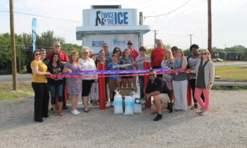 Joint Ribbon Cutting Held for Twice the Ice