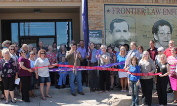 Brownwood and Early Chambers Hold Ribbon Cutting for the Brown County Museum of History