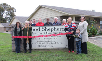 Brownwood Area Chamber Holds Ribbon Cutting for Good Shepherd Apartment Complex