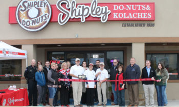 Brownwood Chamber Holds Ribbon Cutting for Shipley Do-Nuts