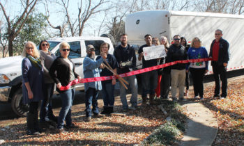Brownwood Chamber Holds Ribbon Cutting for Move-Rite & Transport