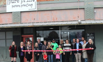 Brownwood Chamber Holds Ribbon Cutting for Pure Print