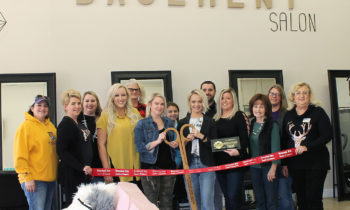 Brownwood Area Chamber of Commerce Holds Ribbon Cutting for The Basement Salon