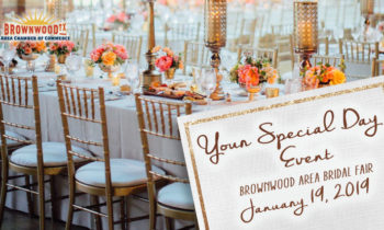 7th Annual Your Special Day Event (Brownwood Area Bridal Fair) to be Held Saturday, January 19th
