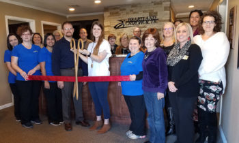 Ribbon Cutting Held at Heartland Chiropractic for new Chiropractor, Dr. Baillie Trumble