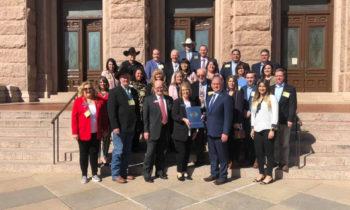 Representatives From Brownwood Visit Austin for Legislative Day