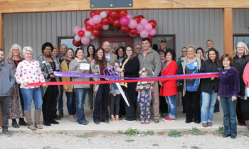 Joint Ribbon Cutting for Early Blooms & Things