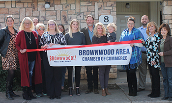 Brownwood Area Chamber of Commerce holds Ribbon Cutting for Clear Path Home Care