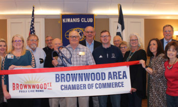 Ribbon Cutting Held to Welcome New Member The Kiwanis Club of Brownwood