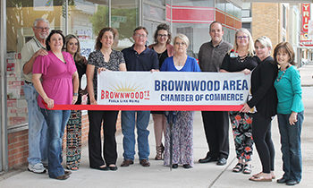 Brownwood Chamber Holds Ribbon Cutting for Advantage Office Products