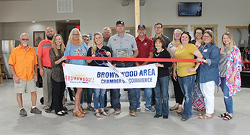The Brownwood Area Chamber of Commerce held a Ribbon Cutting for Wildfire Truck Sales and Outdoors