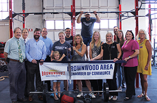 Brownwood Chamber Holds Ribbon Cutting for New Member CrossFit Brownwood