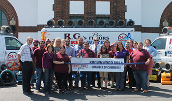 Ribbon Cutting Held to Welcome New Member RG's Pro Floors