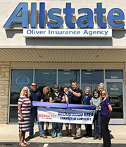 Ribbon Cutting Held for New Member Allstate – Shane Oliver Insurance Agencies, Inc.