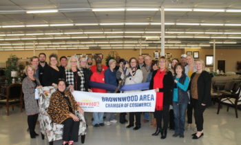 Brownwood Chamber Holds Ribbon Cutting to Welcome New Member – Pierce Furniture