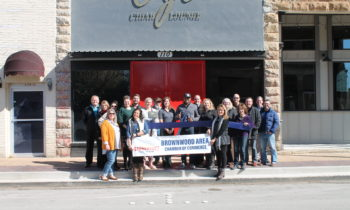 Brownwood Chamber Holds Ribbon Cutting to Welcome New Member – CJ's Cigar Lounge