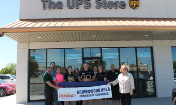 Brownwood Chamber Holds Ribbon Cutting to Welcome New Member – The UPS Store