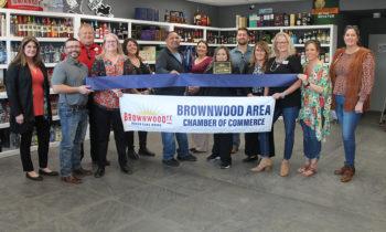 Ribbon Cutting for Hometown Liquor